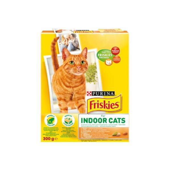 PURINA FRISKIES Cat Indoor Chicken & Vegetables
