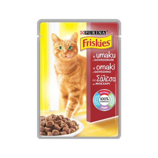 PURINA FRISKIES Cat Sos Beef