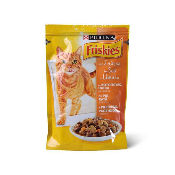 PURINA FRISKIES Cat Sos Chicken