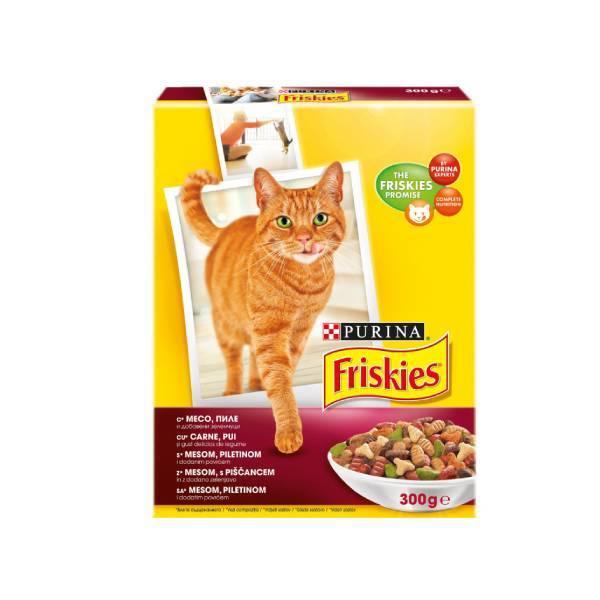 PURINA FRISKIES Cat Meat, Chicken & Vegetables