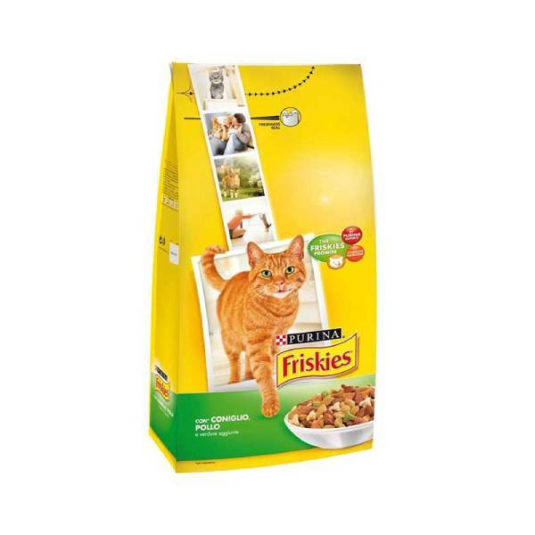 PURINA FRISKIES Cat Rabbit, Chicken & Vegetables