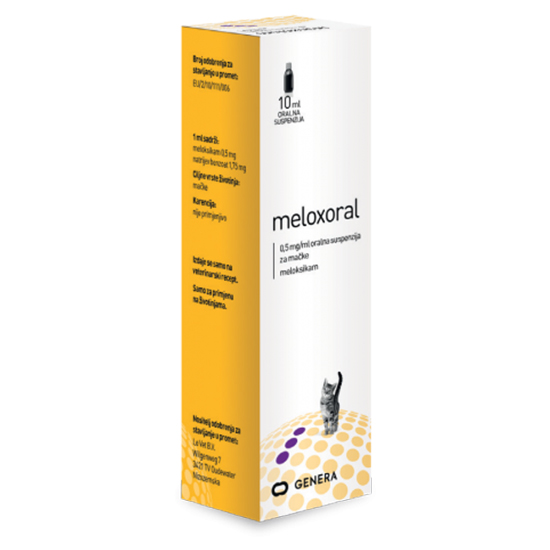 Meloxoral Cat 10 ml