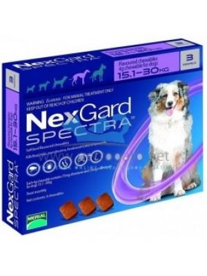 NEXGARD SPECTRA XL (15,1 -30 kg)