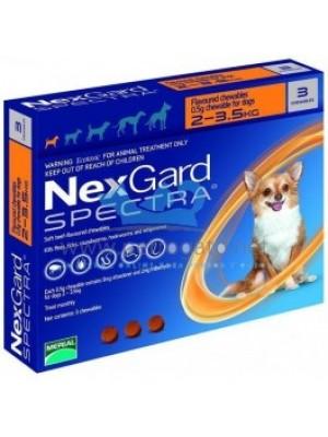 NEXGARD SPECTRA S (2 - 3,5 kg)