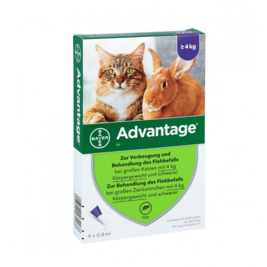BAYER Advantage Cat 80