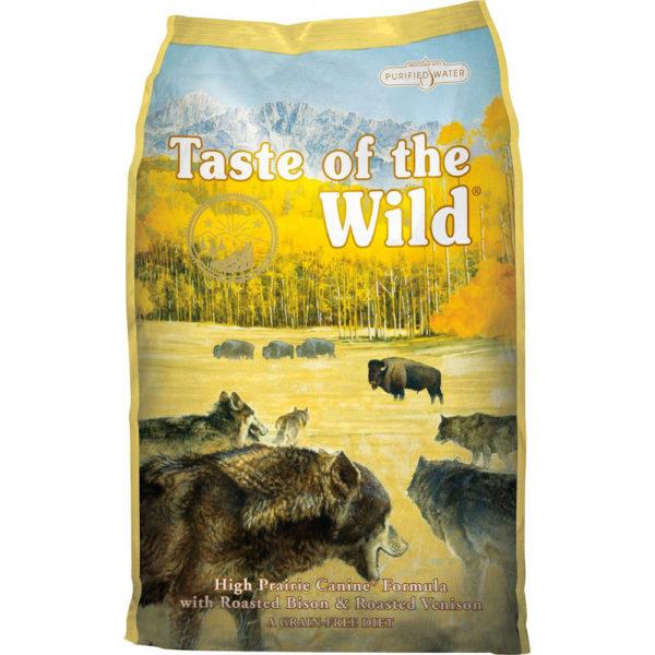 TASTE OF THE WILD High Prairie Canine 13 kg (Cena po kg)