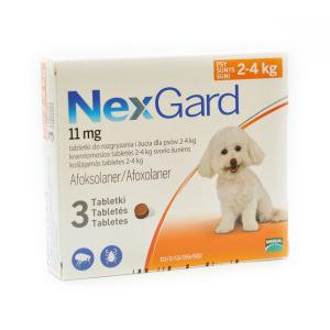 NEXGARD S (2-4 kg)