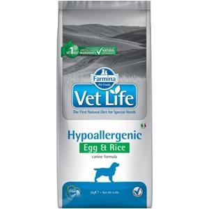 VET LIFE Canine Hypoallergenic Egg & Rice